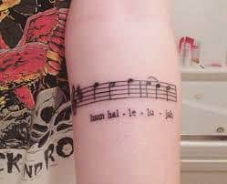 lyric tattoos 18