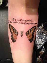 lyric tattoos 48