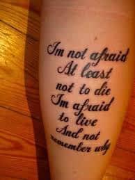 lyric tattoos 60
