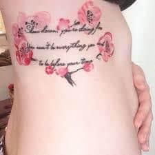 lyric tattoos 61