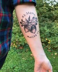 Acorn Tattoo 14