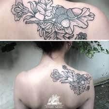 Acorn Tattoo 15