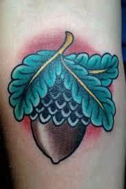 Acorn Tattoo 17