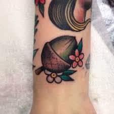 Acorn Tattoo 33