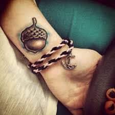 Acorn Tattoo 42