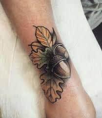 Acorn Tattoo 5