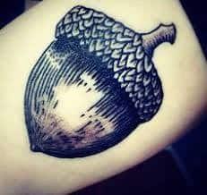 Acorn Tattoo 52