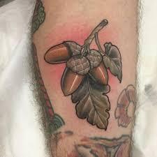 Acorn Tattoo 57