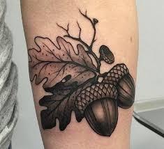 Acorn Tattoo 59