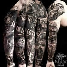 Bonnie And Clyde Tattoo Meaning 45 Ideas And Designs
