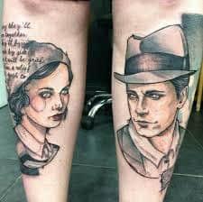 Bonnie And Clyde Tattoos 51 Tattoo Seo