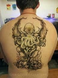 Cthulhu Tattoo 14
