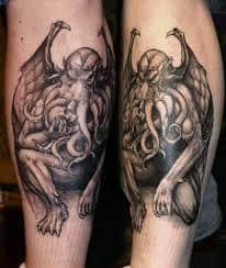 Cthulhu Tattoo 28