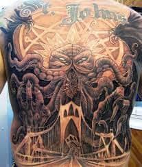 Cthulhu Tattoo 40