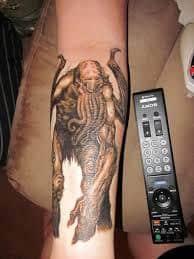 Cthulhu Tattoo 5
