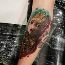 Groot Tattoo 1