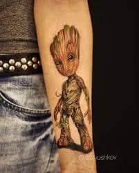 Groot Tattoo 10