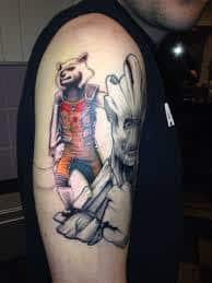 Groot Tattoo 13
