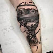 Groot Tattoo 14