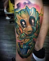 Groot Tattoo 15