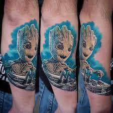 Groot Tattoo 16