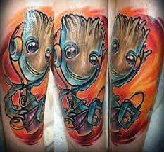 Groot Tattoo 18