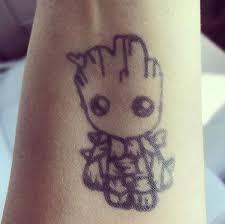 Groot Tattoo 23