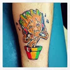 Groot Tattoo 24
