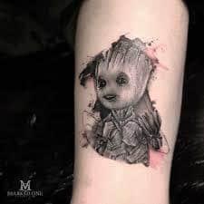 Groot Tattoo 25