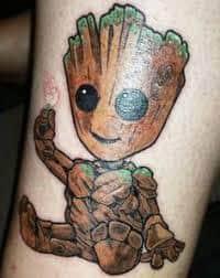 Groot Tattoo 28