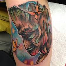 Groot Tattoo 29