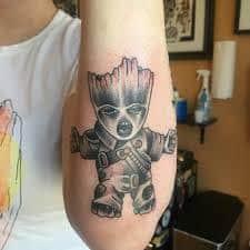 Groot Tattoo 3