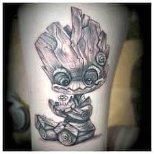 Groot Tattoo 32