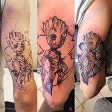 Groot Tattoo 35
