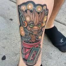 Groot Tattoo 36