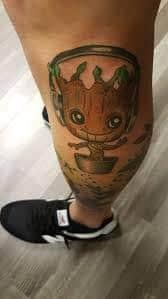 Groot Tattoo 37