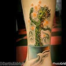 Groot Tattoo 39