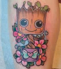Groot Tattoo 4