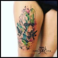 Groot Tattoo 40