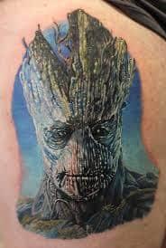 Groot Tattoo 41