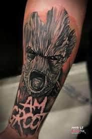 Groot Tattoo 44