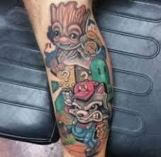 Groot Tattoo 45