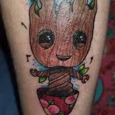 Groot Tattoo 46