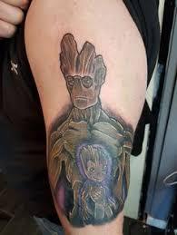 Groot Tattoo 48