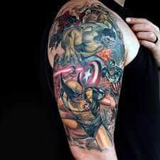 Groot Tattoo 52