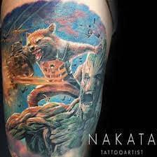 Groot Tattoo 53