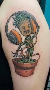 Groot Tattoo 54