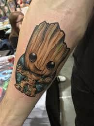 Groot Tattoo 56