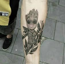 Groot Tattoo 57
