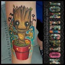 Groot Tattoo 6